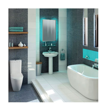 Bathroom Suites and Accessories from Tesco Bathrooms