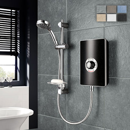 electric shower triton aspirante wireless 9 5kw electric. Black Bedroom Furniture Sets. Home Design Ideas