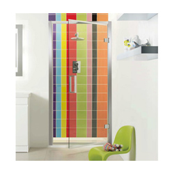 Hinged-shower-door