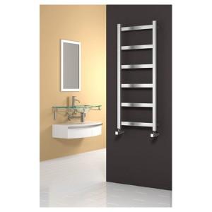 Heated towel rails from bella bathrooms for Bella bathrooms