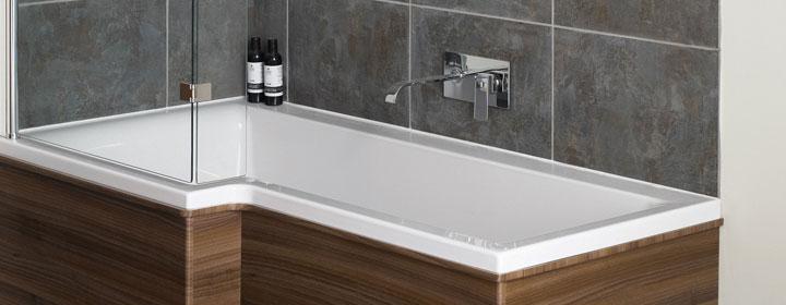 Shower Baths for apartment Bathrooms