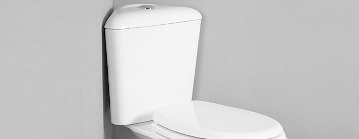 Corner Toilets for Cloakroom Suites