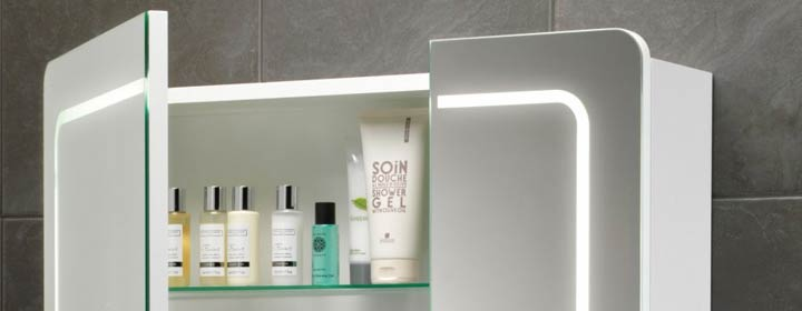 Reduce clutter with a Bathroom Cabinet