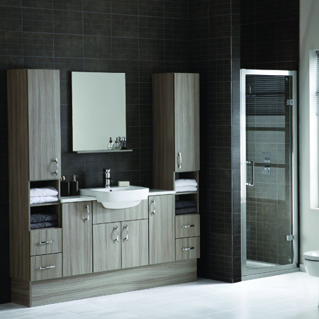 Beautiful Modern Hudson Reed Bathroom Slimline Furniture Packs WC Vanity Unit