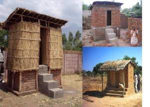 Toilets made from bamboo
