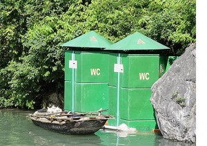 Toilets on the River