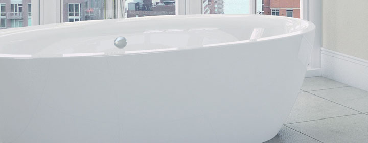 Show your adventurous side with a Freestanding Bath