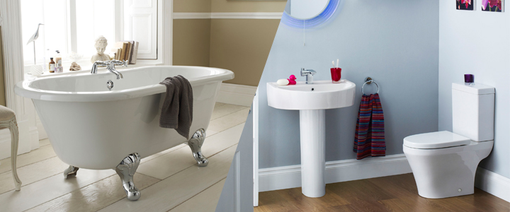 Modern Bathroom Design vs Traditional;