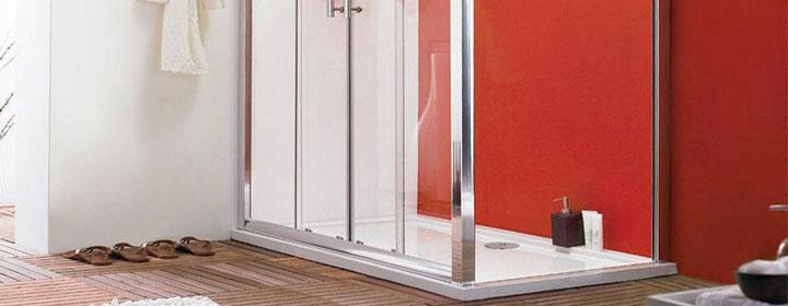 bathroom space saving tips bath vs shower enclosure