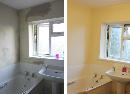 How To Remove Mould Before Painting Bella Bathrooms Blog - Painting over mildew in bathroom