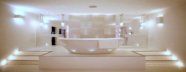 Bathroom Lighting Ideas - Ambient Lighting