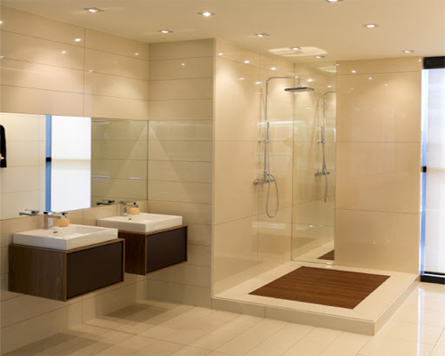 Perfect small shower enclosures for en suite bathrooms for Ensuite lighting ideas