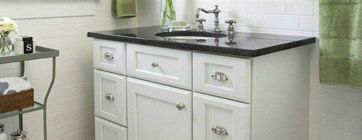 How to paint your old Vanity Unit