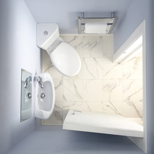 Cheap Toilets - Moods Micro Space Corner Toilet