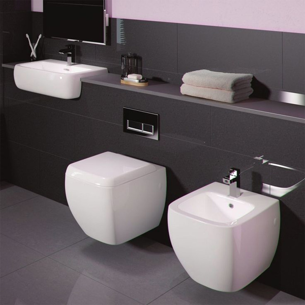 5 cheap toilets designer style bella bathrooms blog for Cheap toilet and sink set