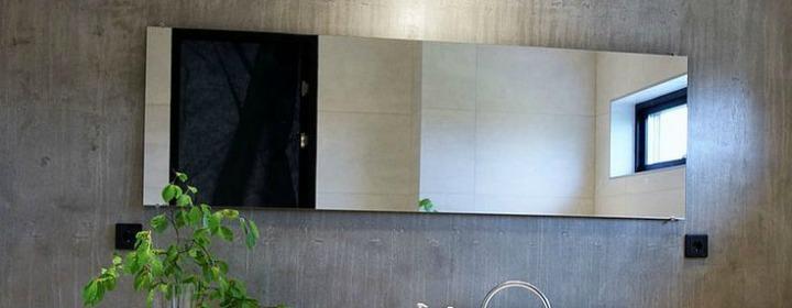bathroom mirror series