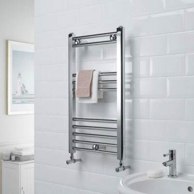 Space Saving Chrome Rail