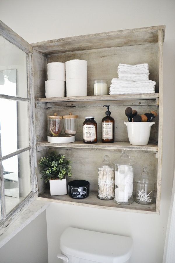 7 really clever bathroom storage ideas for Bathroom decor and storage