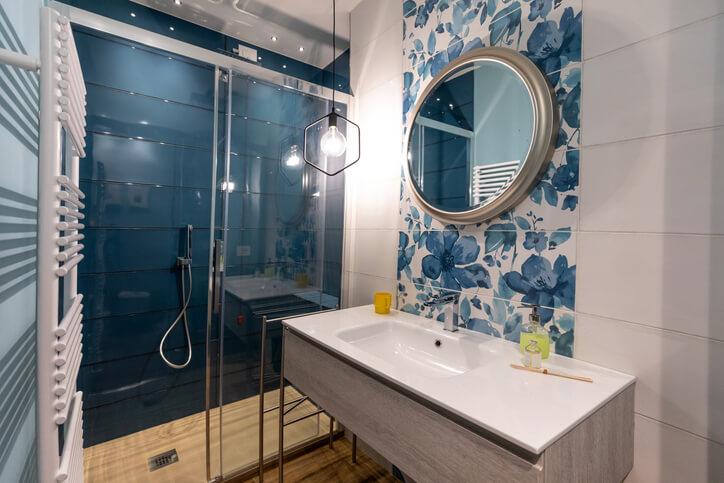 Brand new empty modern design apartment