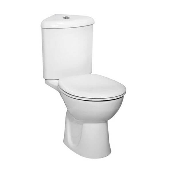 Vitra Layton close coupled corner toilet
