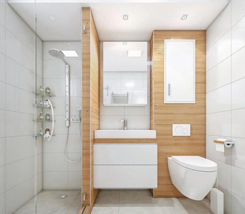 Modern bathroom look and very stylish