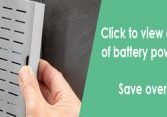 Battery Powered LED Mirrors