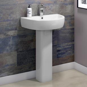 Basins with Full Pedestals