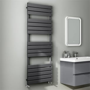 Black Towel Rails