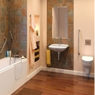 Easy Access Bathrooms