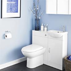 Luxury DESIGN ELEMENT PORTLAND 71IN DOUBLE SINK BATH VANITY IN WHITE FINISH