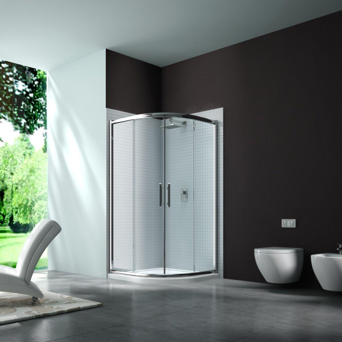 Merlyn Series 6 Double Door Quadrant Shower Enclosure