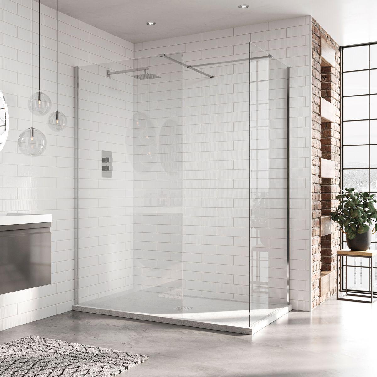 April Identiti 8 Wet Room Shower Enclosure