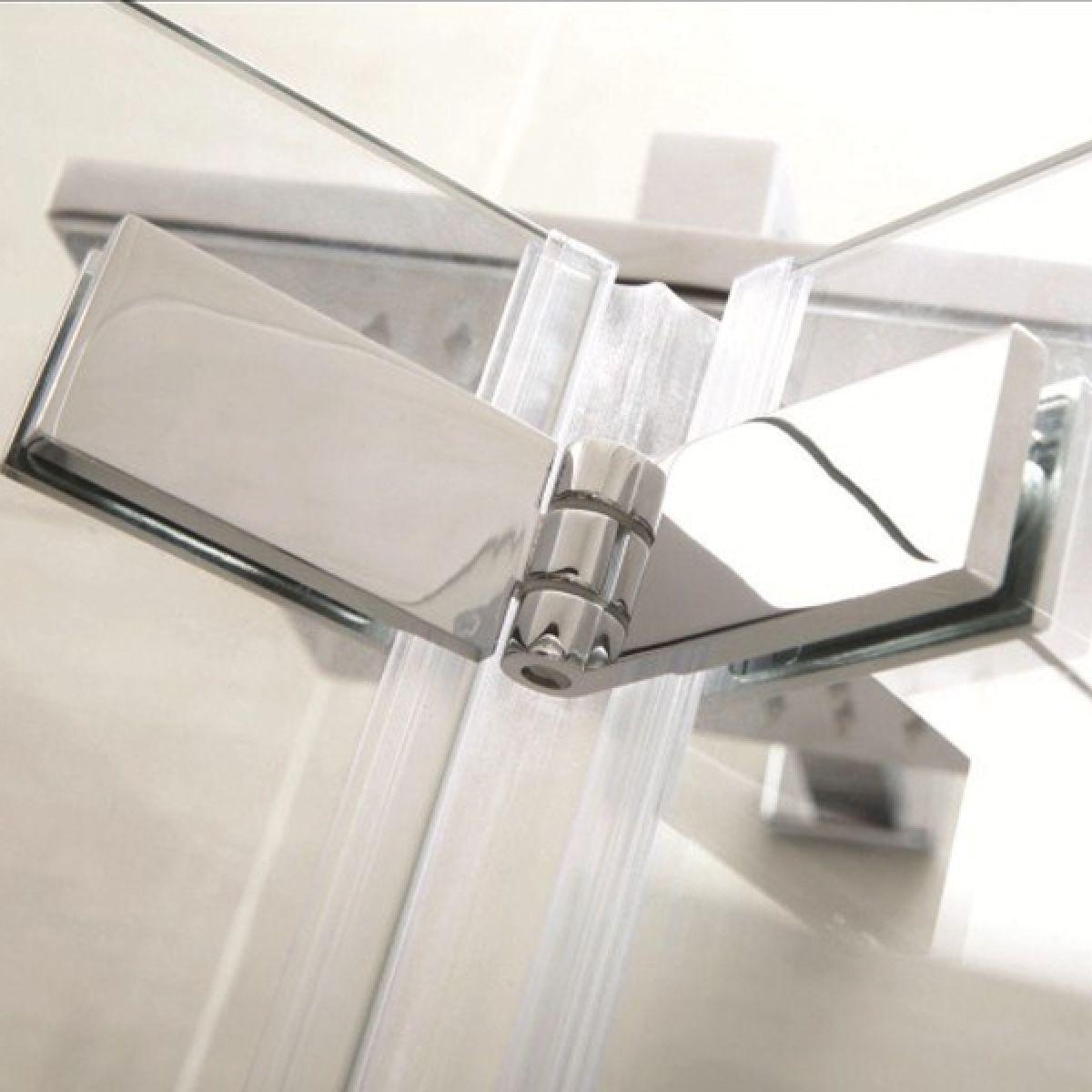 Identiti2 Bi-Fold Shower Door with Optional Side Panel Detail 3