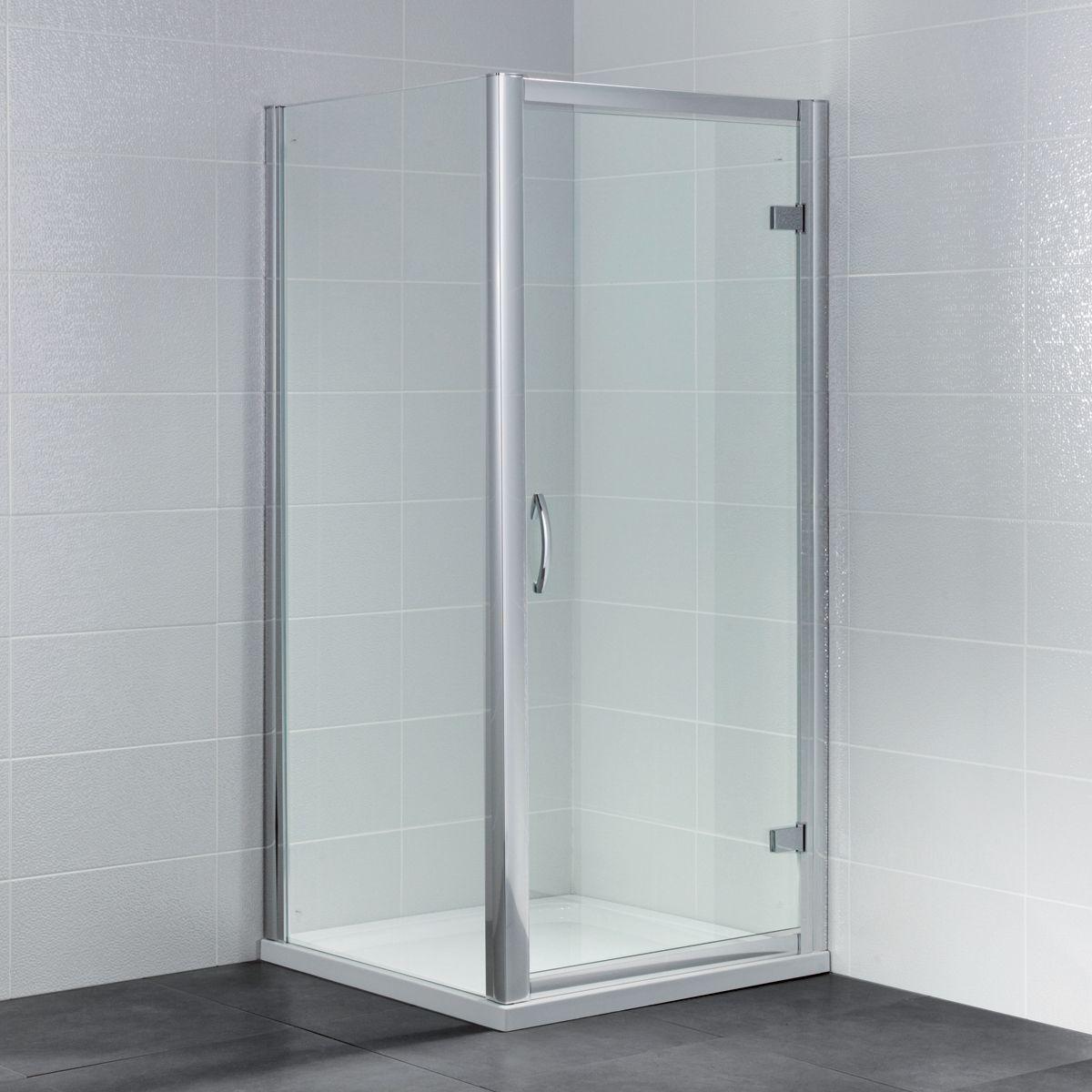 April Identiti Hinged Shower Door