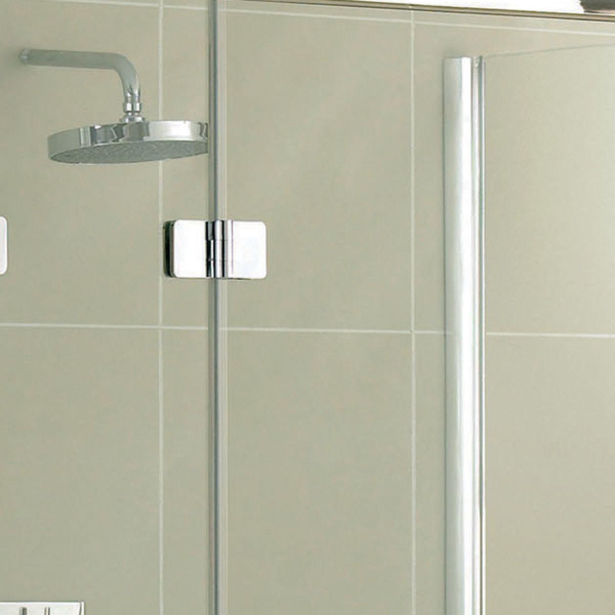 Aquadart Inline 3 Sided Hinged Door Shower Enclosure Detail 2