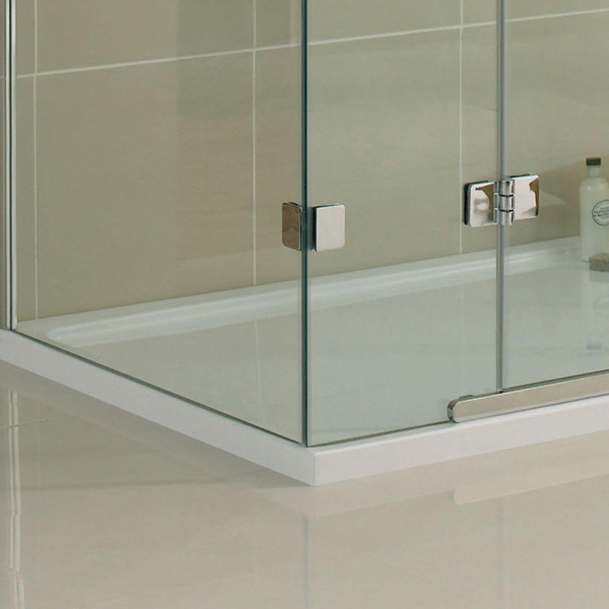 Aquadart Inline 3 Sided Hinged Door Shower Enclosure Detail 3