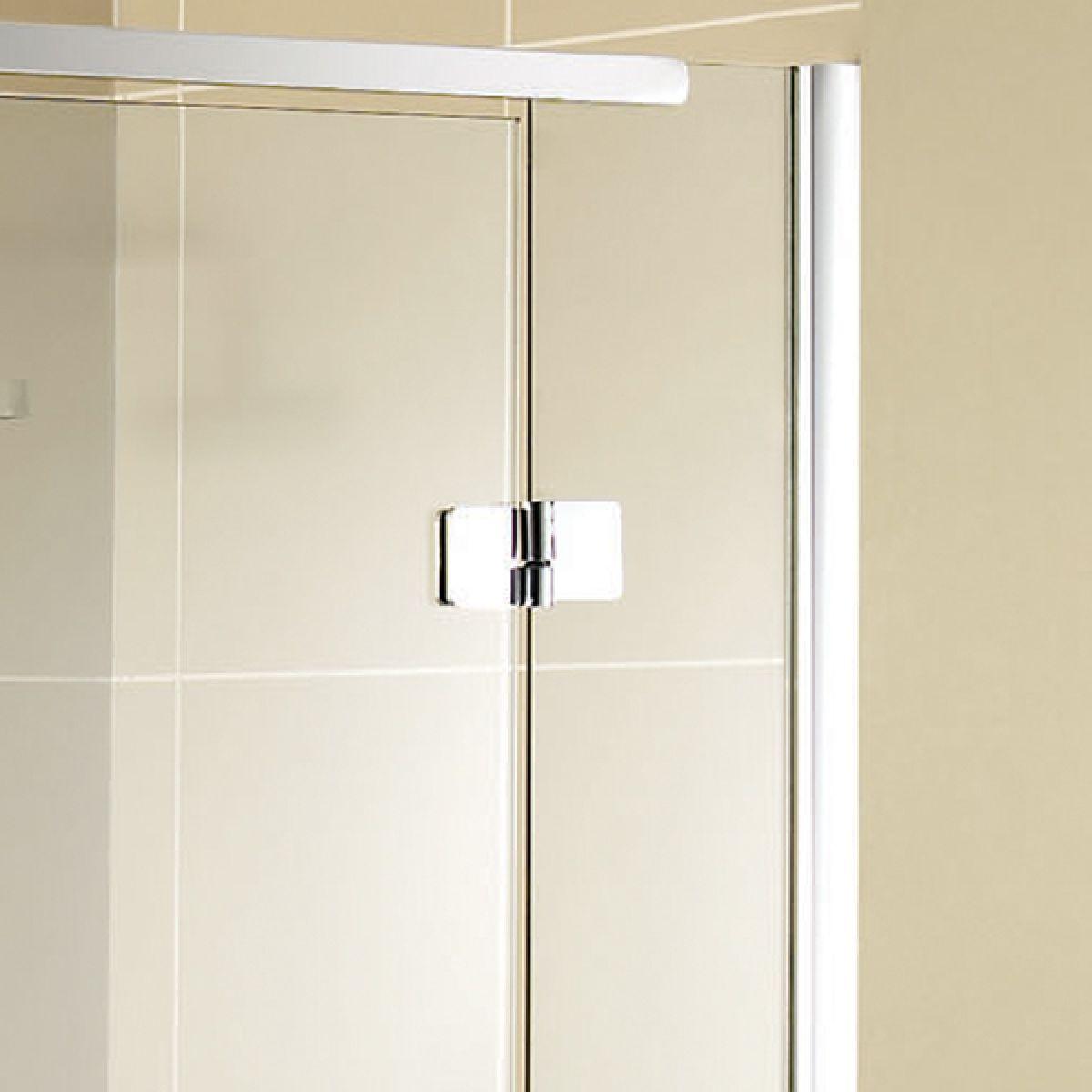 Aquadart Inline Recess Hinged Shower Door Detail 2