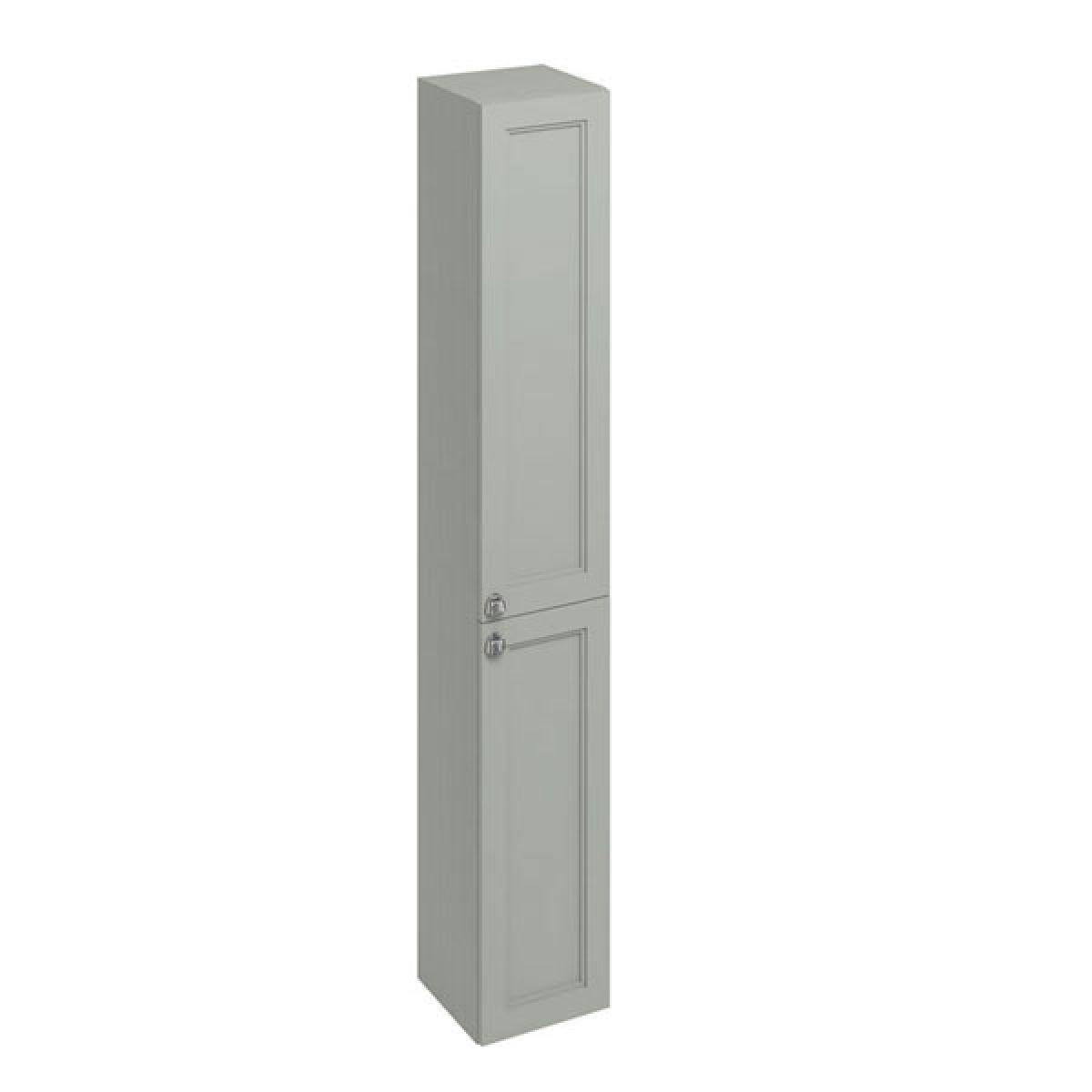 Burlington Dark Olive Double Door Tall Unit 300mm
