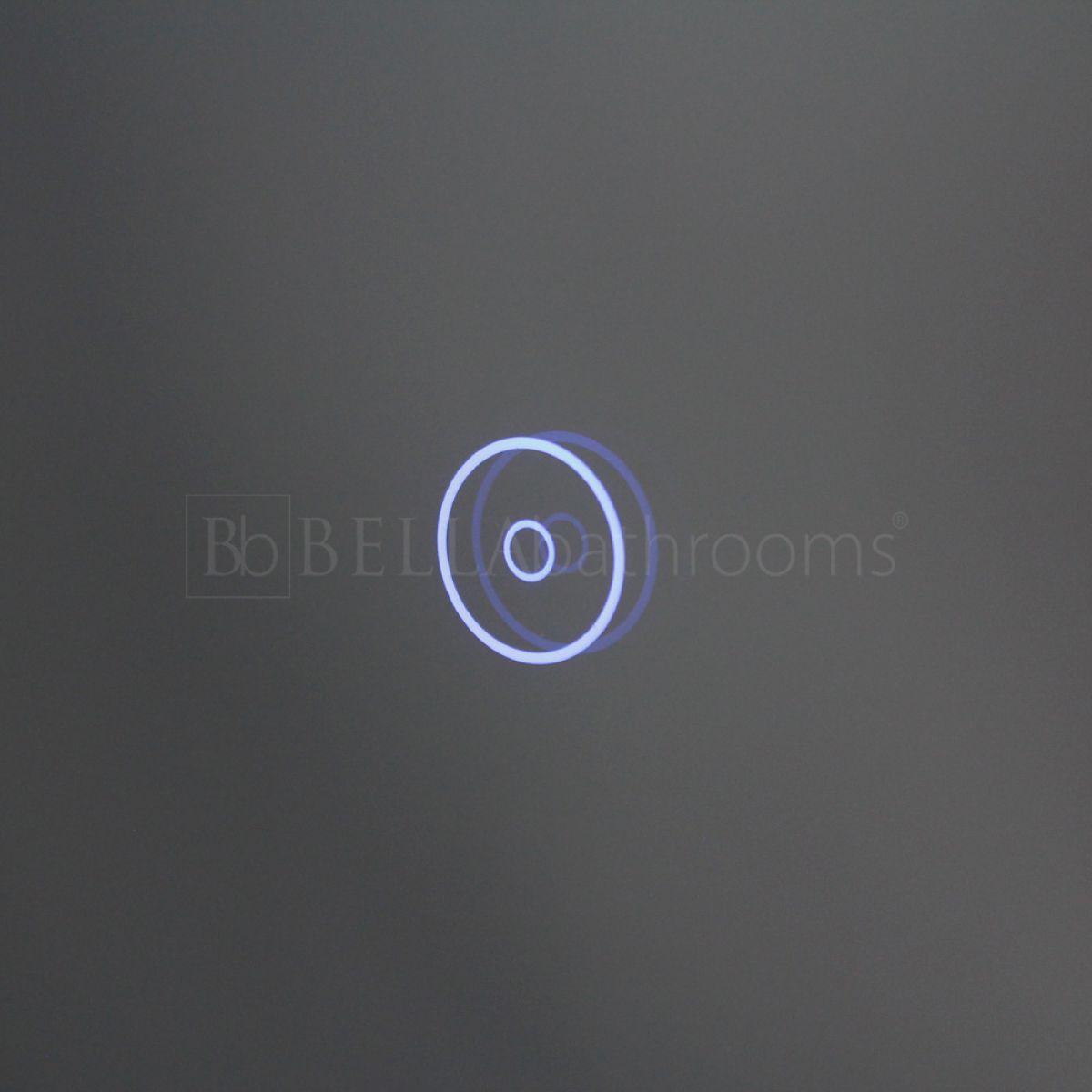 Cassellie Iridium LED Universal Bathroom Mirror Touch Sensor
