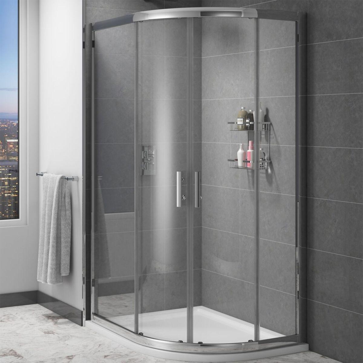 Cassellie Cass Six Offset Quadrant Shower Enclosure