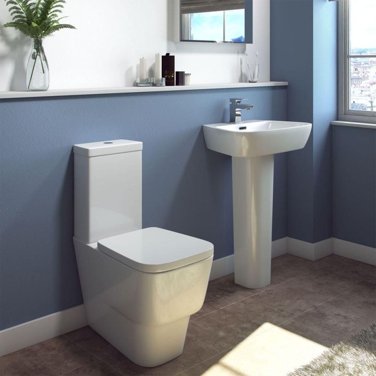 Cassellie Dearne Toilet and Basin Set