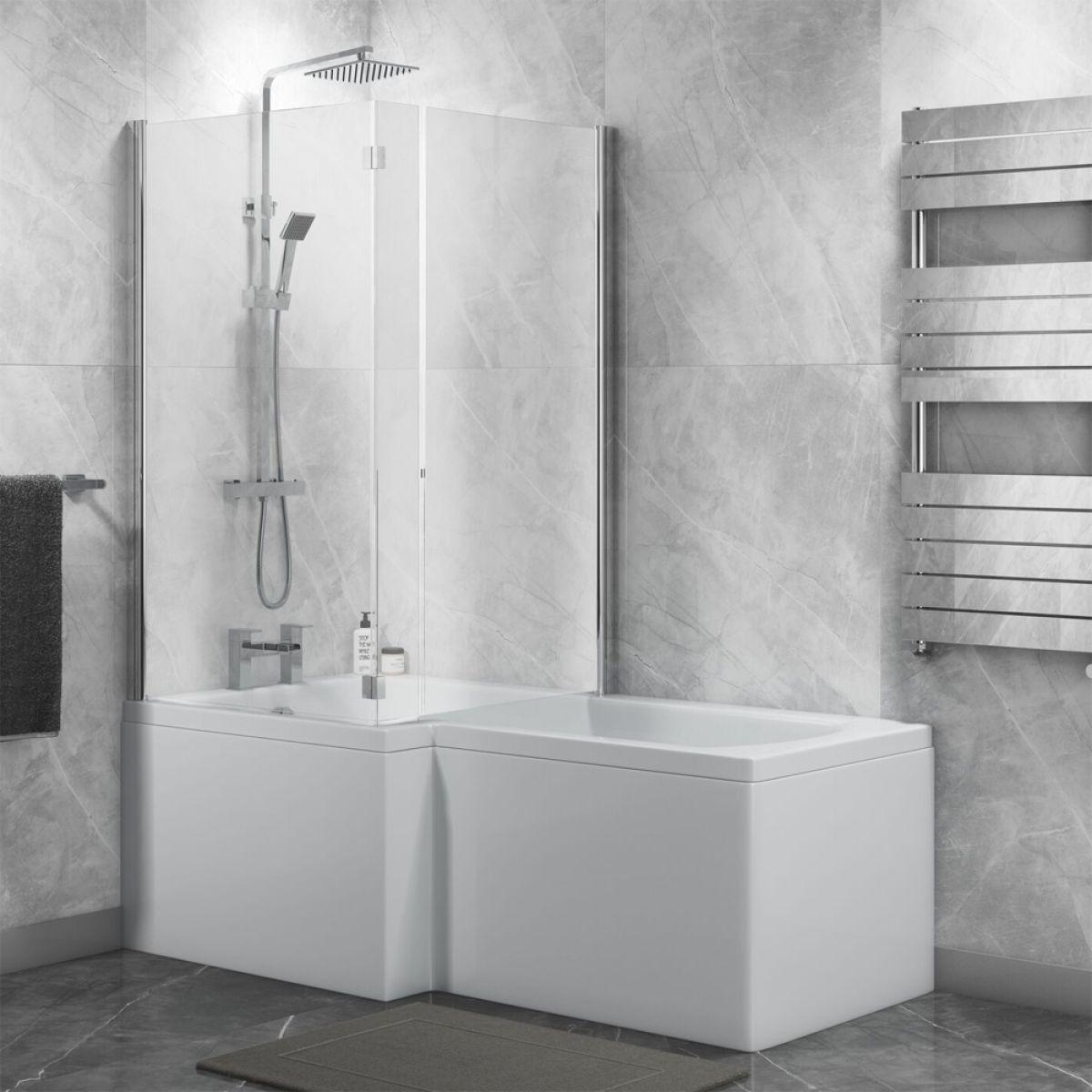Showerbath End Panel Bath Panel For P /& L Shaped Showerbaths Cavalier Only