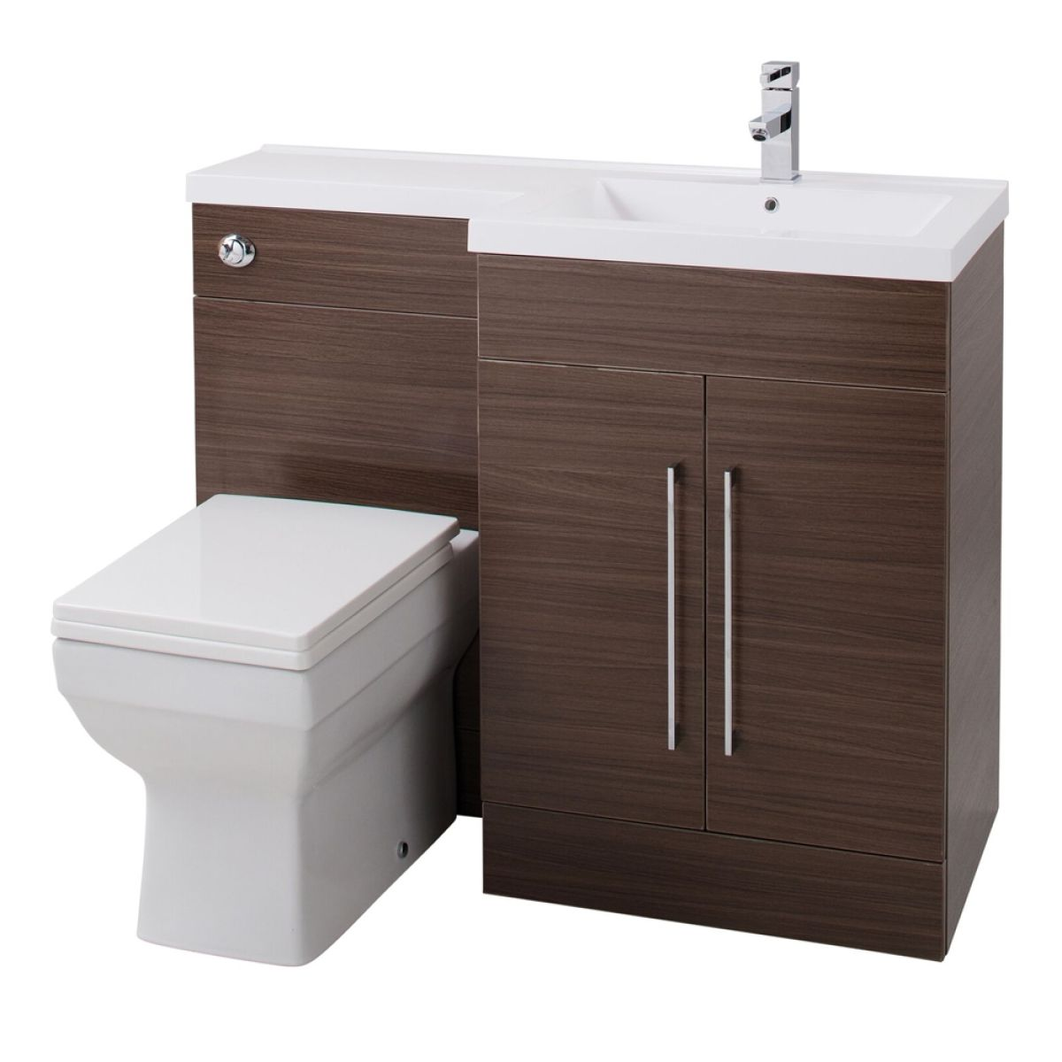 Cassellie Maze Walnut L-Shape Combination Furniture Pack