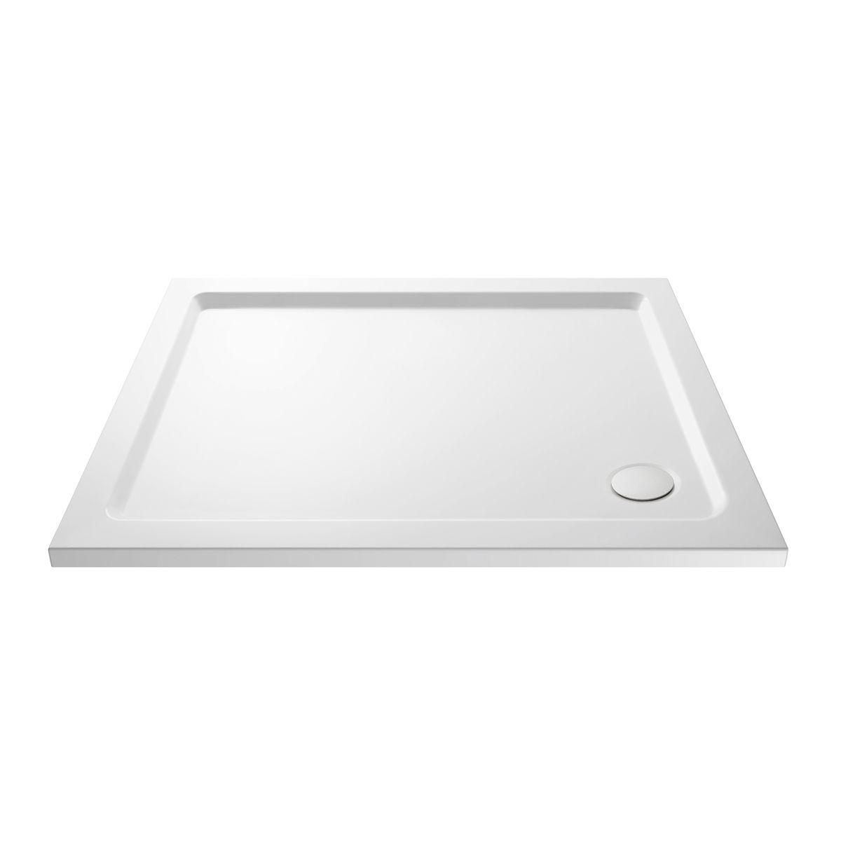 Cassellie Rectangular Shower Tray 1200 x 900mm