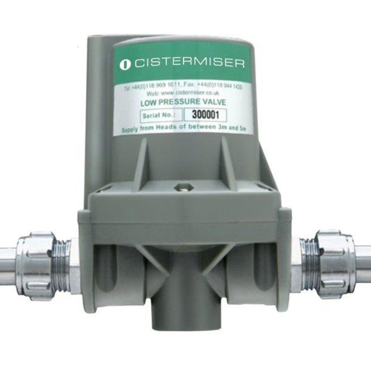 Cistermiser Low Pressure Automatic Urinal Flush Control Valve