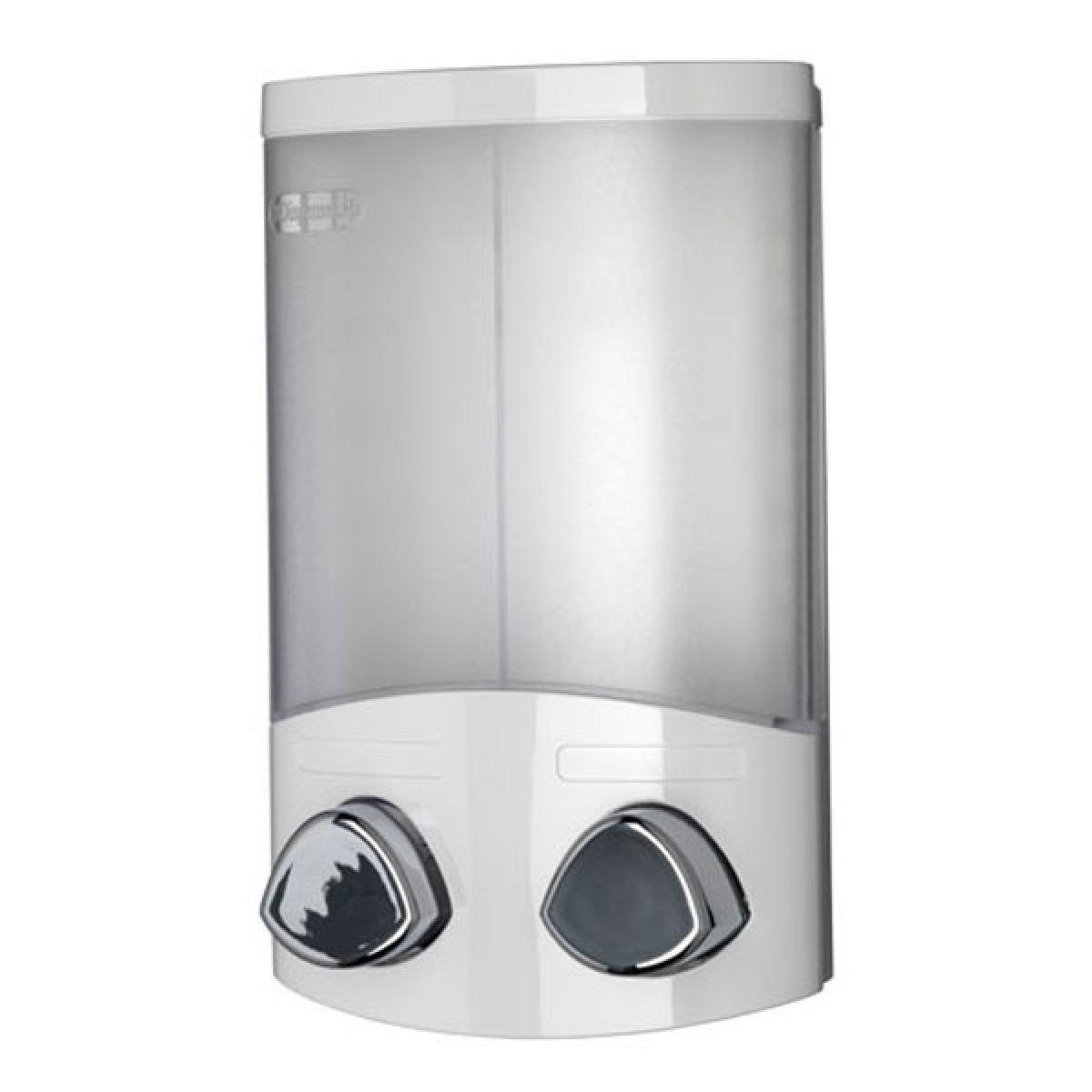 Croydex Euro Soap Dispenser Duo in White