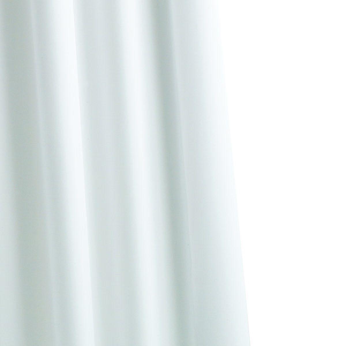 Croydex High Performance 1800 White Textile Shower Curtain