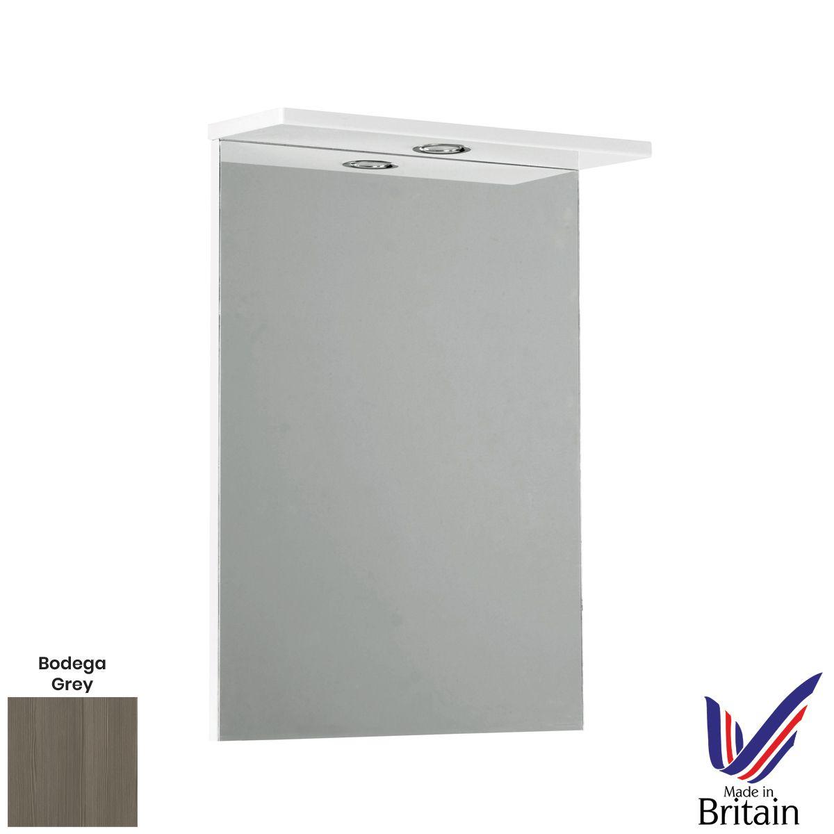 Elation Ikoma Bodega Grey Mirror 550mm