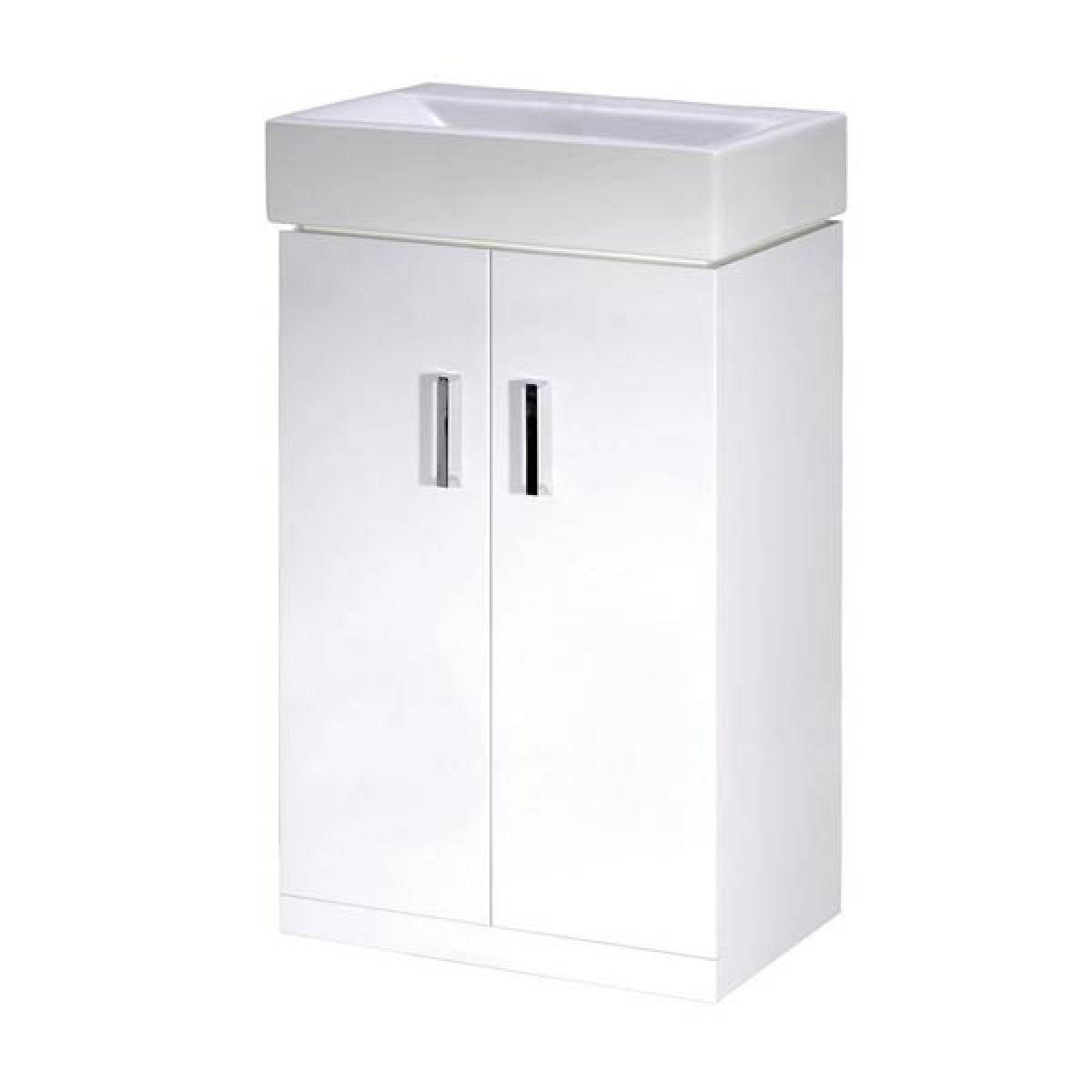 Premier Floor Standing Cabinet with Basin 450mm