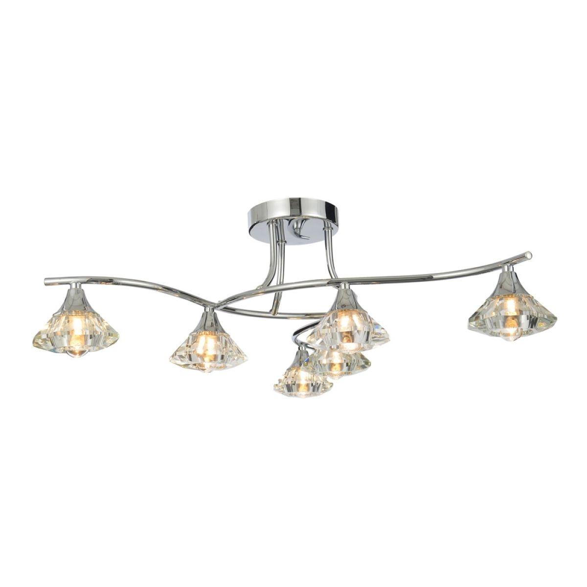 Forum Reena 6 Light Ceiling Lamp